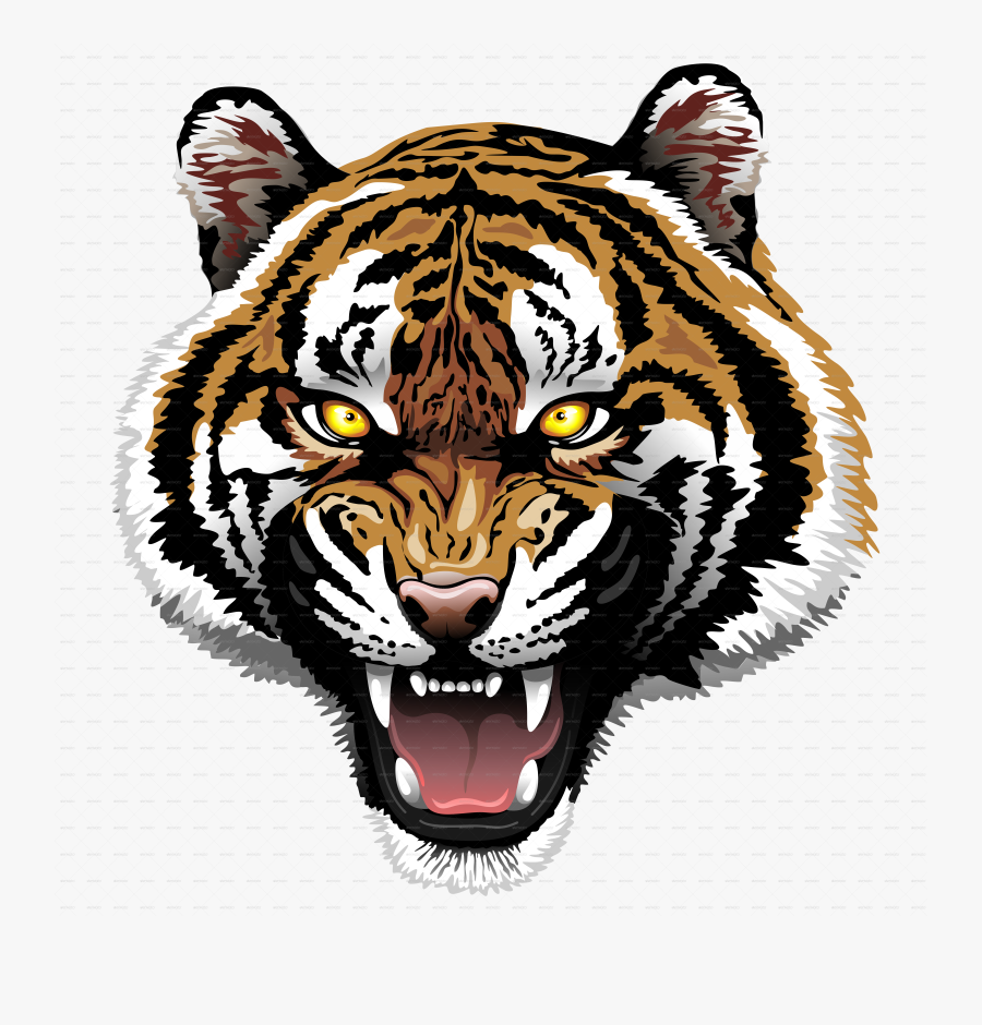 Download Tiger Tattoos Free Png Transparent Image And - Animal Coming Out Of Paper, Transparent Clipart