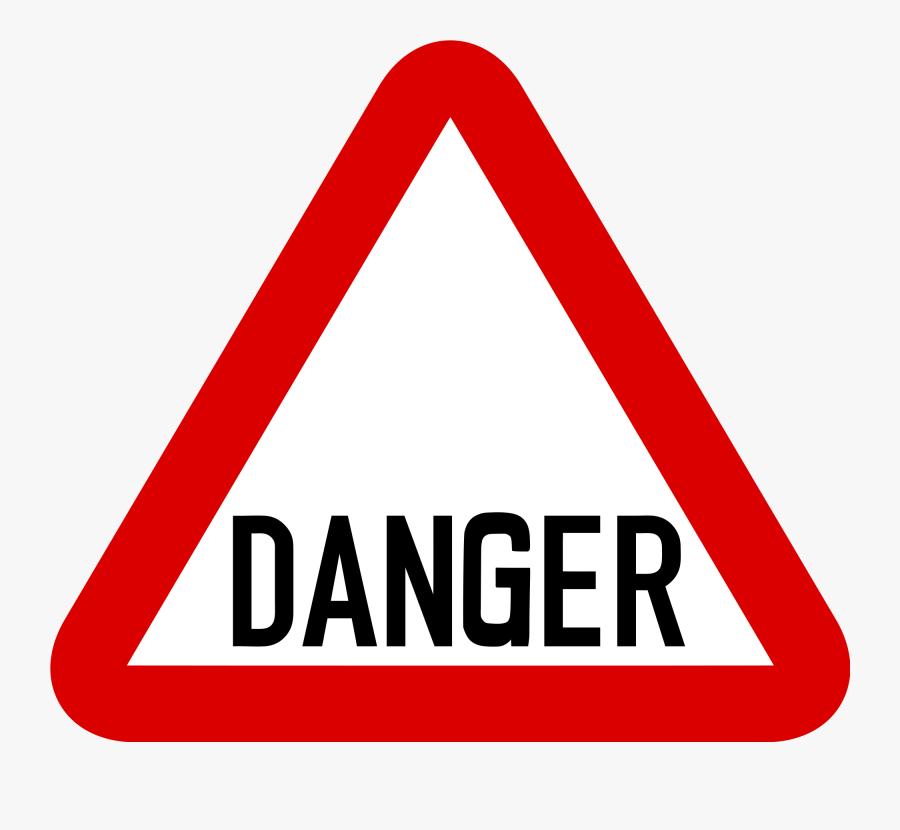 Danger Sign - Danger Road Signs Png , Free Transparent ...