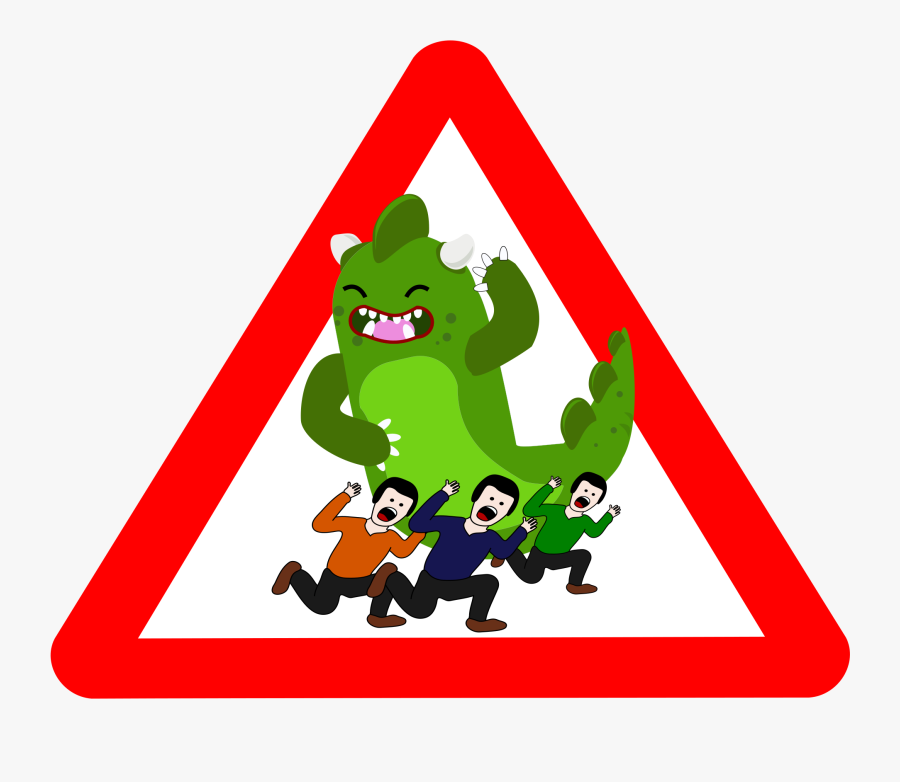 Godzilla Clip Art - Danger Clipart, Transparent Clipart