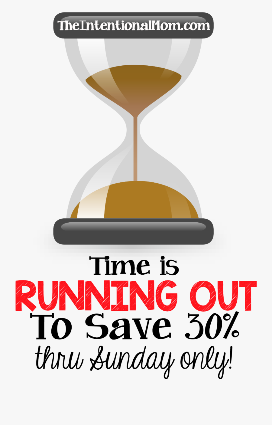 Clip Art Running Out Of Time Clipart - Time Is Running Out To Save, Transparent Clipart