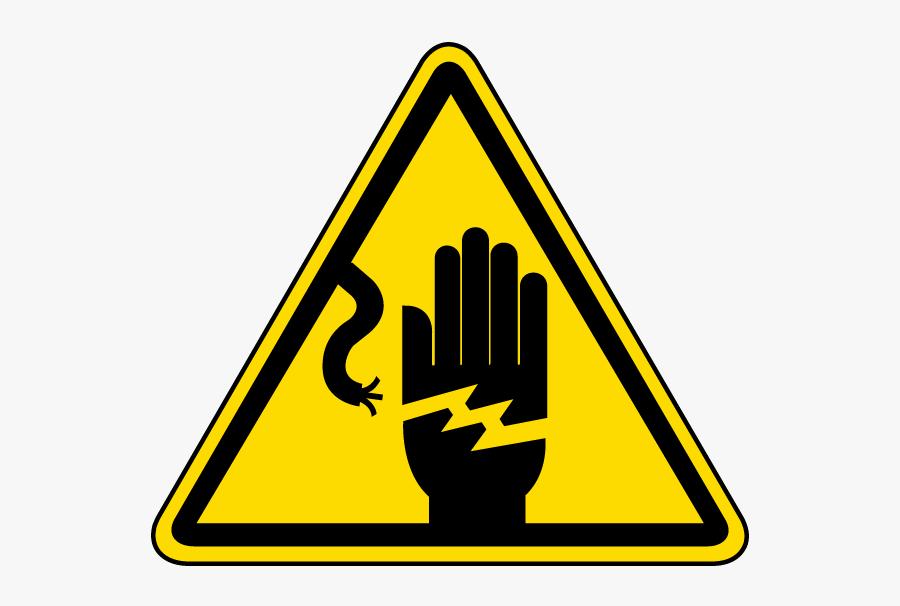 Danger Clipart Electrical Hazard - Electrical Safety Symbol, Transparent Clipart
