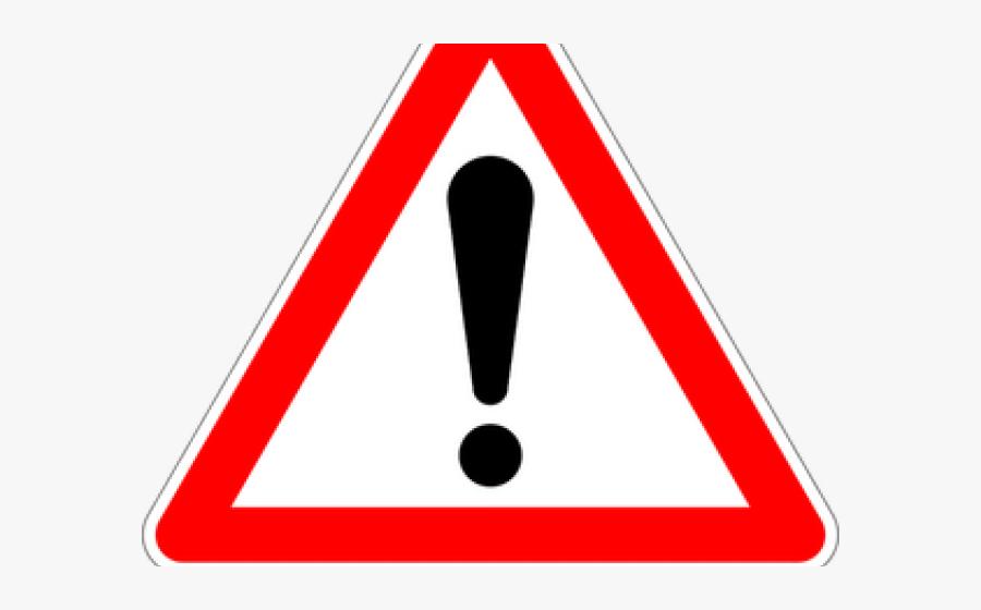 Traffic Sign Dangerous, Transparent Clipart