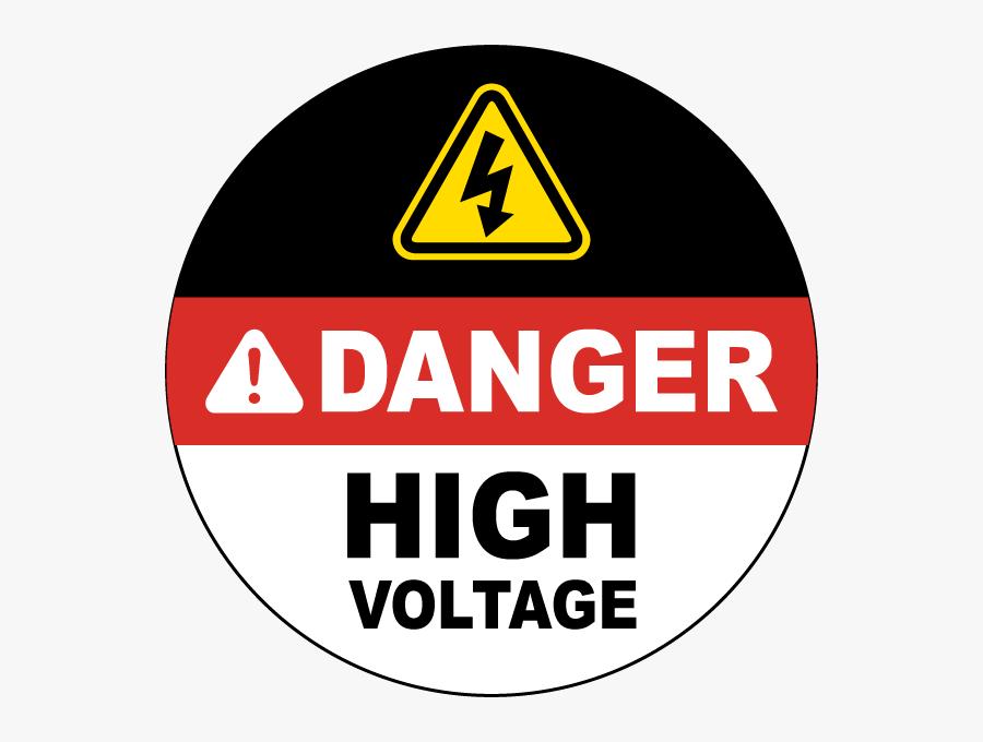 High Danger Hazard Voltage Free Download Png Hd Clipart - Danger High Voltage Symbol, Transparent Clipart