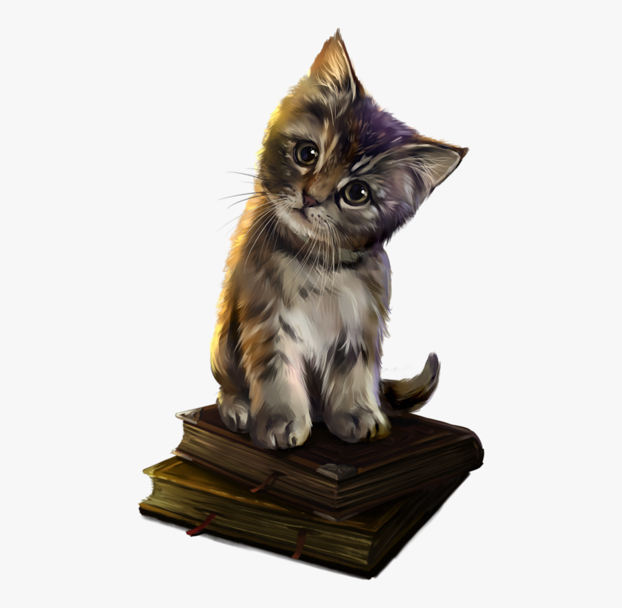 Clip Art Kittens Cats Cat Gato - Magic Cat, Transparent Clipart
