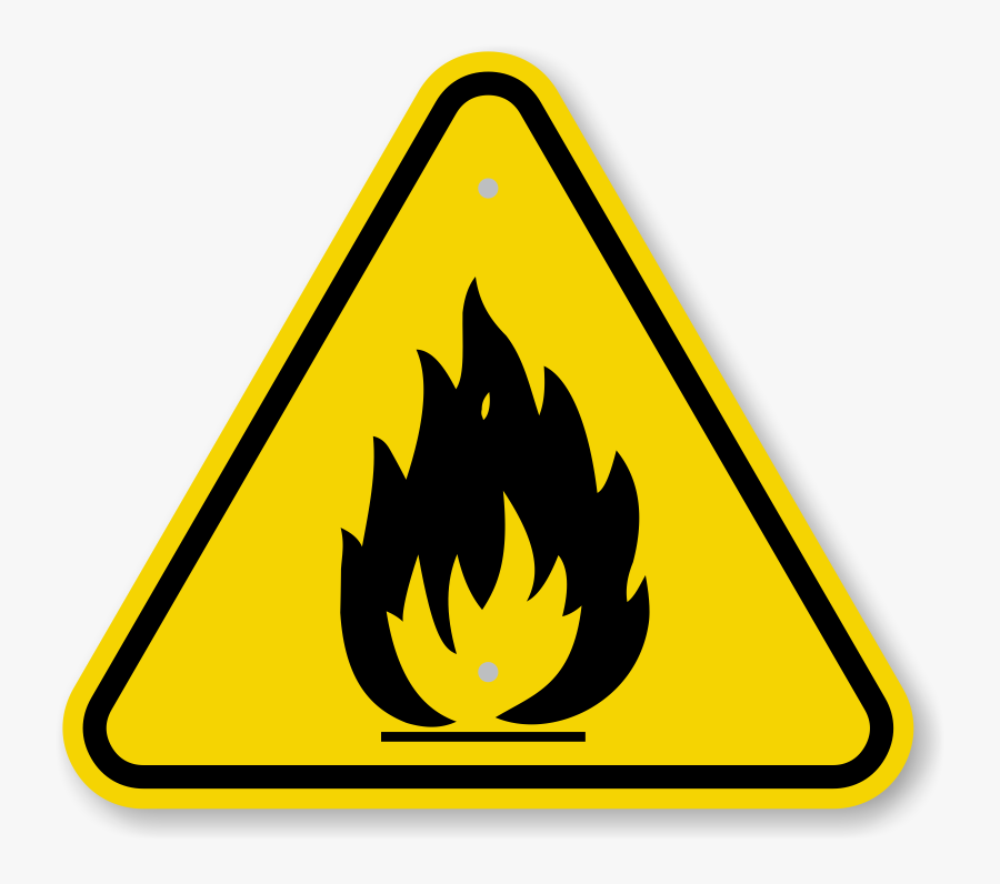 Danger Fire Png Photos - Fire And Explosion Symbol, Transparent Clipart