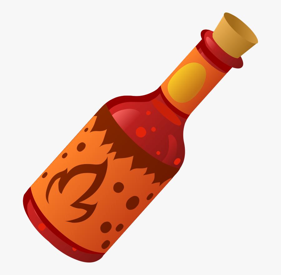 Sauces Clip Art Panda - Hot Sauce Clipart Free, Transparent Clipart