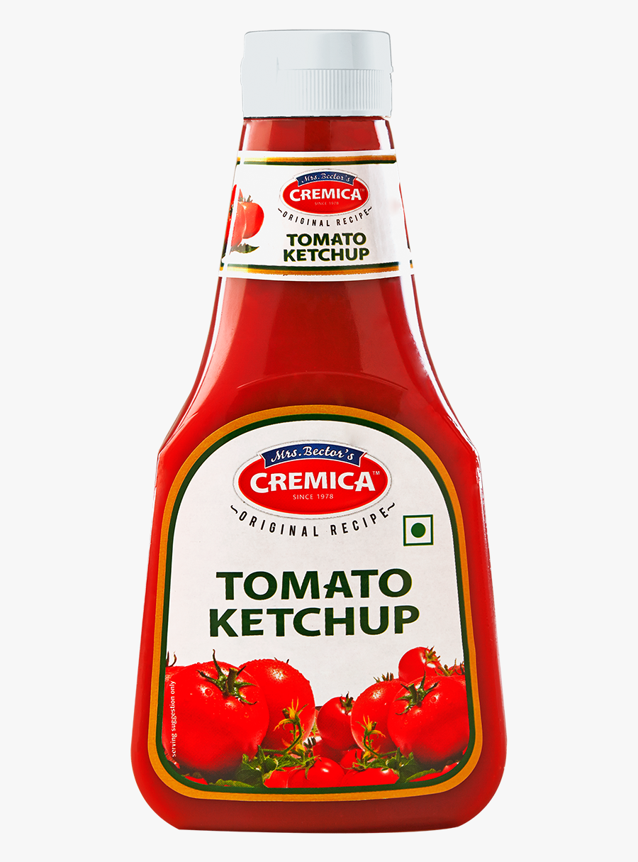 Transparent Ketchup Clipart - Cremica Tomato Ketchup, Transparent Clipart