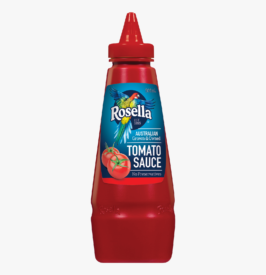 Rosella Tomato Sauce Ml - Rosella Tomato Sauce 500ml, Transparent Clipart