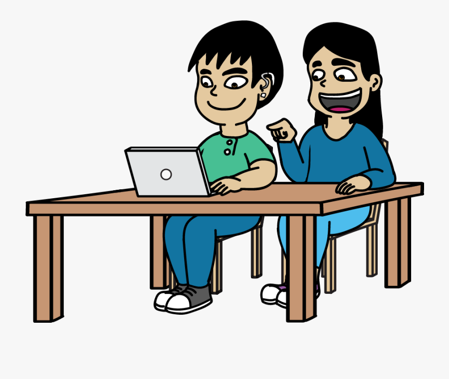 Guided Tasks Revolutionary Content - Students Collaborating Clipart, Transparent Clipart