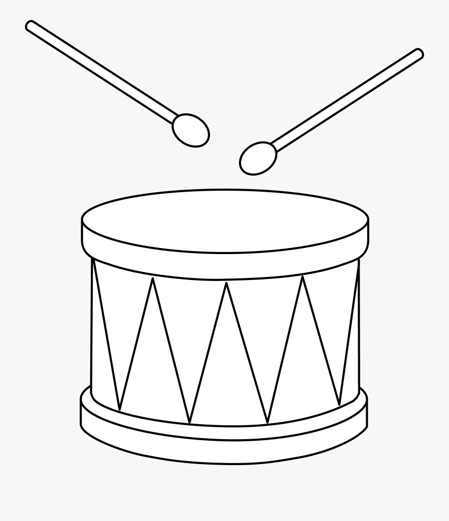 Drum Clipart Outline Drumming Clipart Black And White Png Free Transparent Clipart Clipartkey
