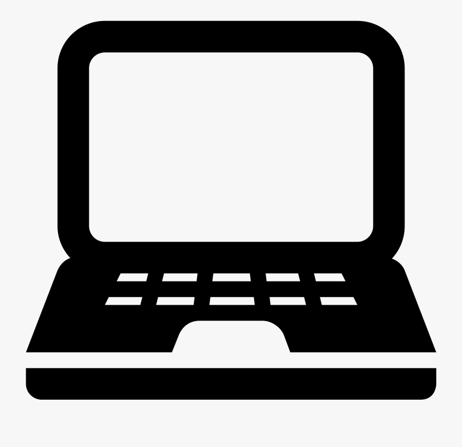 Computer Images Free Download - Computer Icon Black Png, Transparent Clipart
