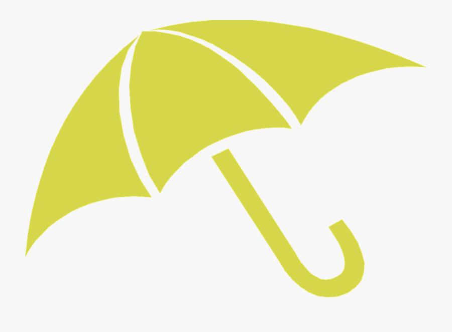 Umbrella, Rain, Weather, London, Yellow - Black Umbrella Clip Art, Transparent Clipart