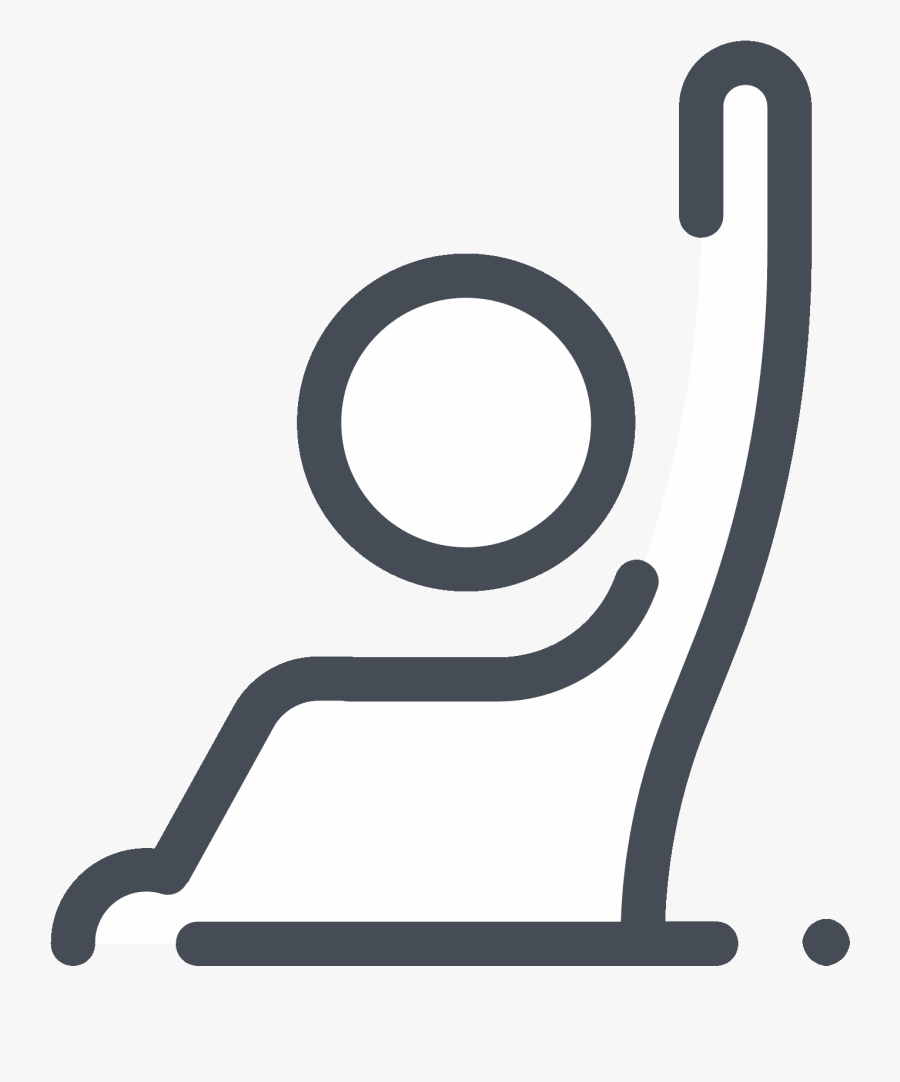 Raise A Hand To Answer Icon - Raise Your Hand Icon, Transparent Clipart