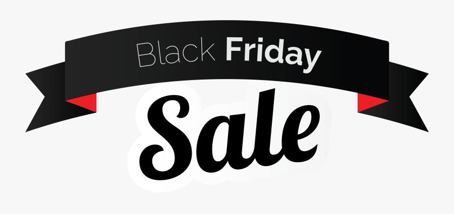 Black Friday Sale Png Clipart - Banner Black Friday Png, Transparent Clipart