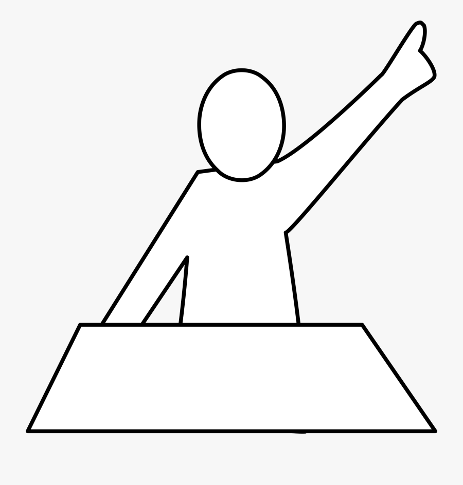 Clip Art Library Stock Question Big Image Png - Raise Your Hand If You Want To Talk, Transparent Clipart