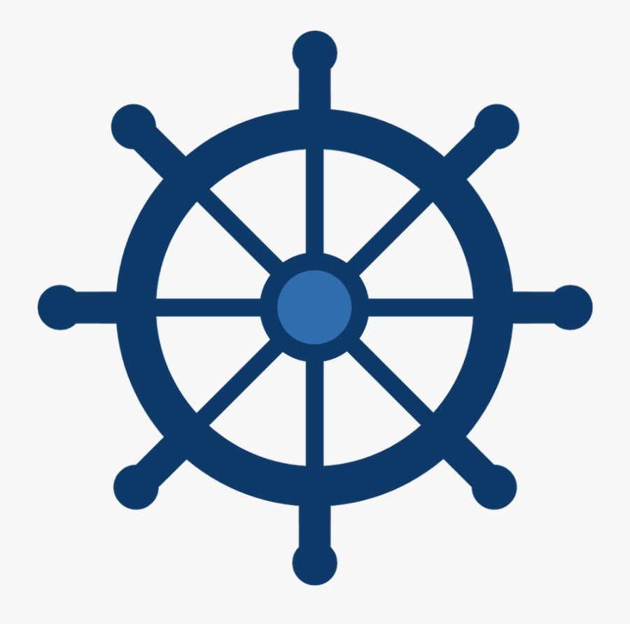 Cruise Clipart Life Preserver - Wheel Ship Nautical, Transparent Clipart