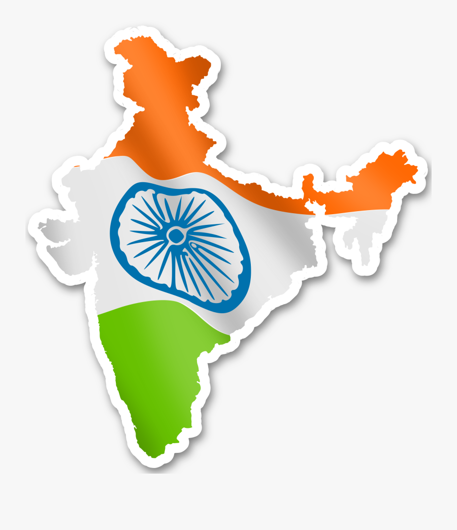 Transparent India Map Outline Png - Marwadi University In India, Transparent Clipart