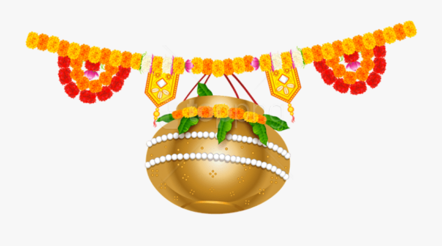 Free Png Download India Holiday Floral Decoration Clipart - Indian Flower Decoration, Transparent Clipart