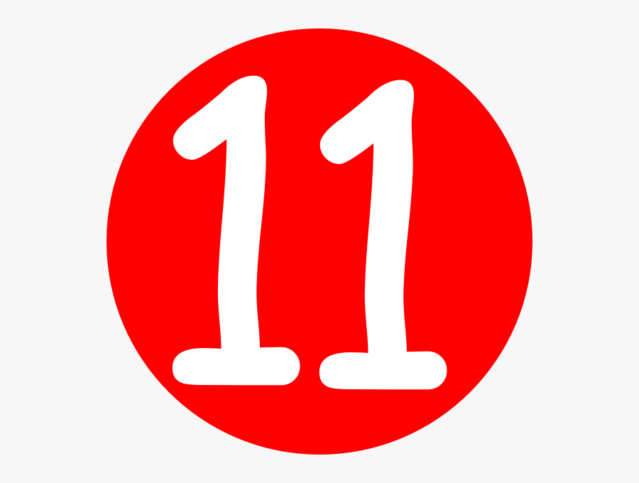 11 Number Cartoon , Free Transparent Clipart - ClipartKey