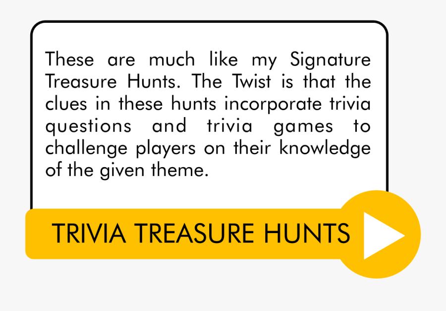 Transparent Scavenger Hunt Clipart - Outdoor Treasure Hunt Clues For Kids, Transparent Clipart