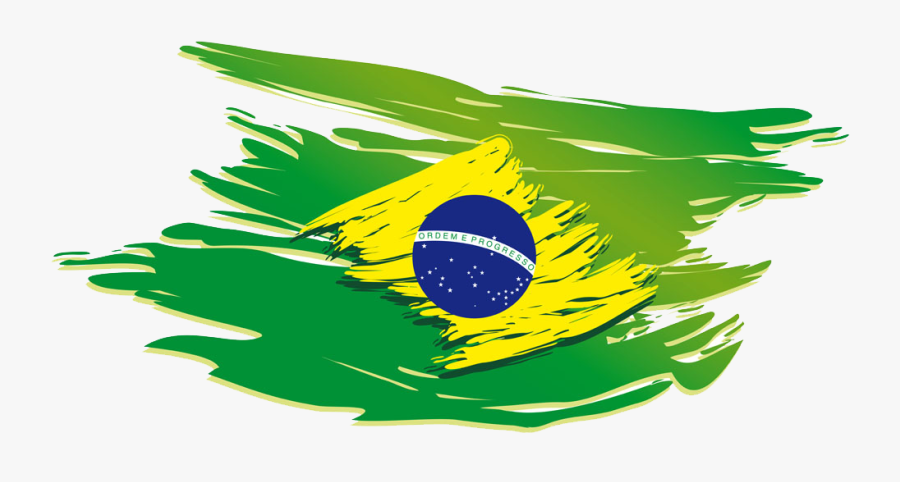 Brazil Championship Janeiro Of De Fighting T-shirt - Bandeira Do Brasil Vetor Png, Transparent Clipart