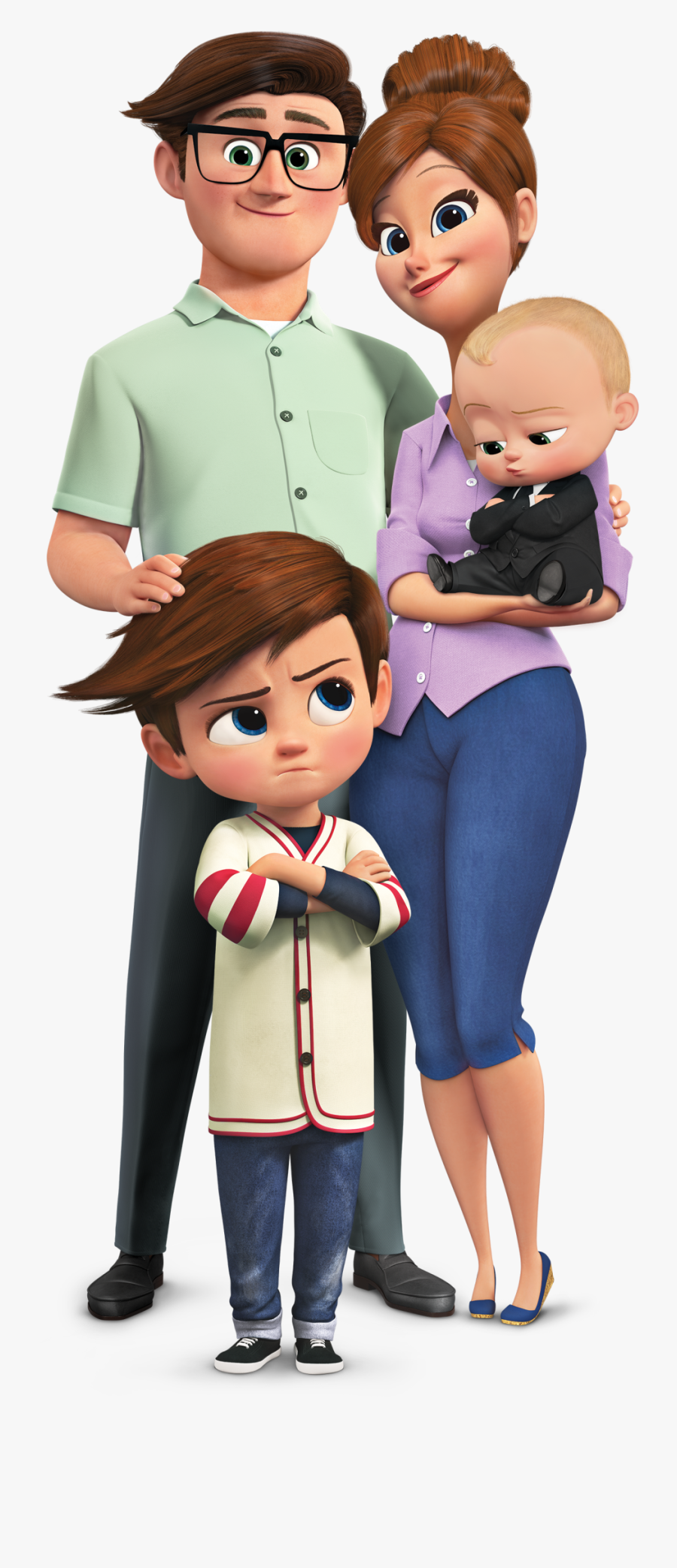 Want To Plan Your Own Timed Scavenger Hunt Game To - Boss Baby Family Png, Transparent Clipart