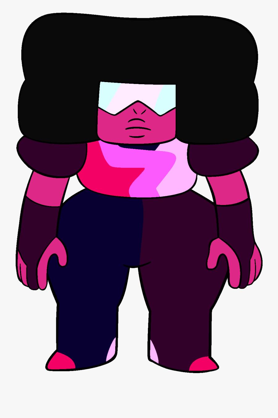 Ruby Clipart Garnet - Steven Universe Chibi Ruby, Transparent Clipart
