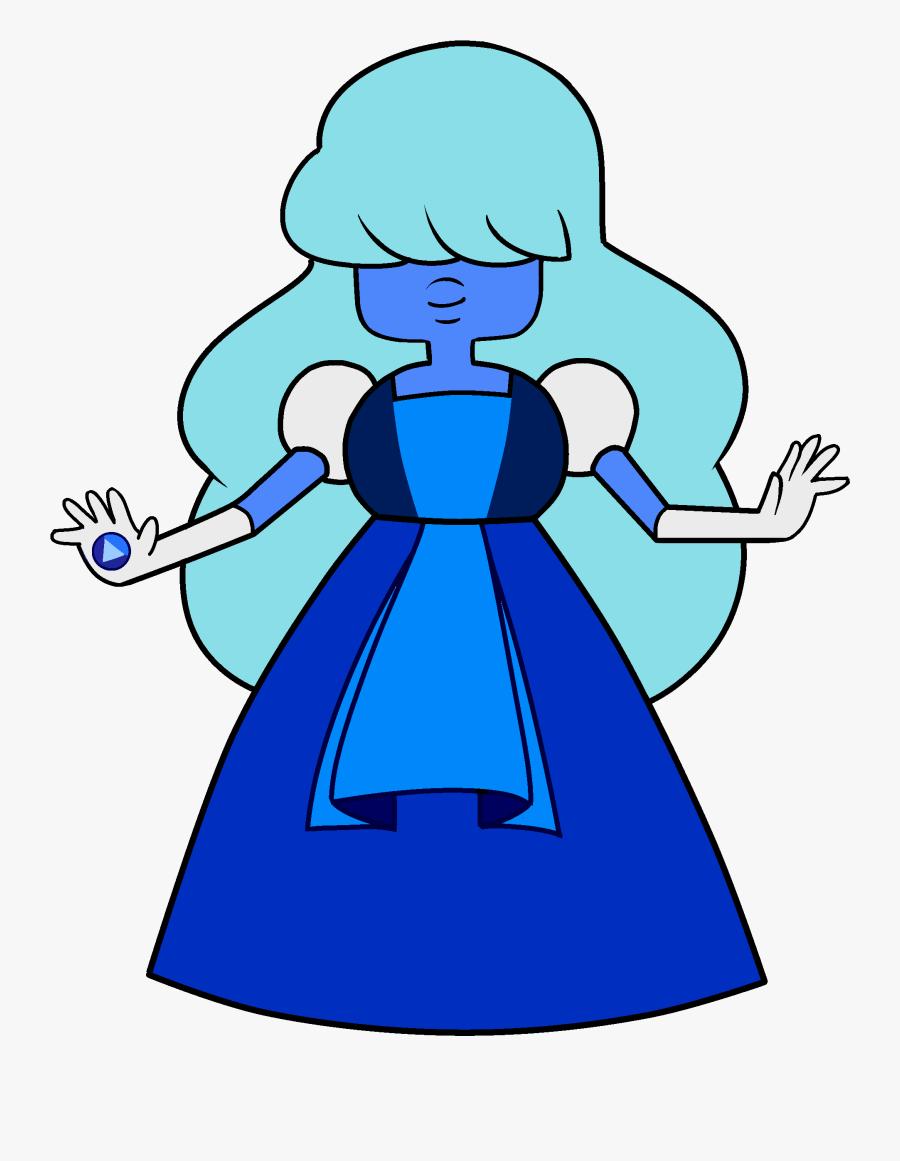 Sapphire - Steven Universe Wedding Sapphire, Transparent Clipart