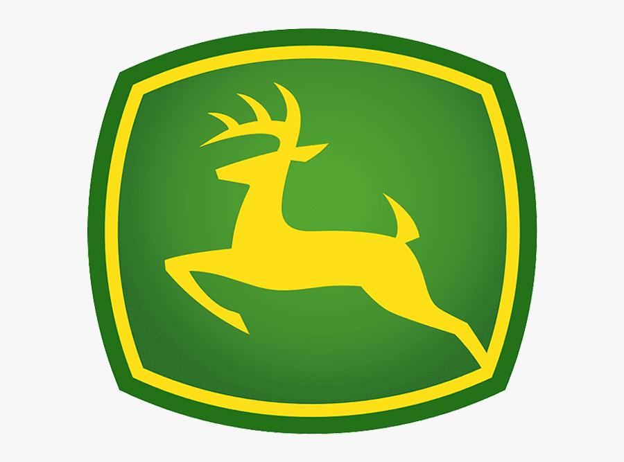 U Tractor Harvest Inc John Deere Equipment Parts And - John Deere Logo Sticker, Transparent Clipart