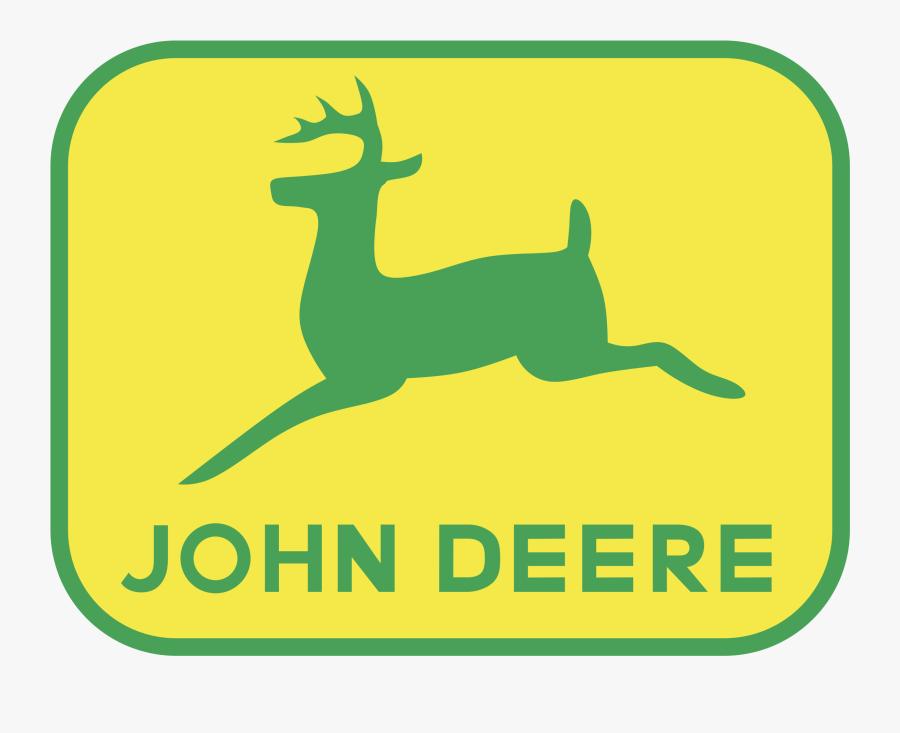 John Deere Png Transparent Images - John Deere Logo Yellow, Transparent Clipart