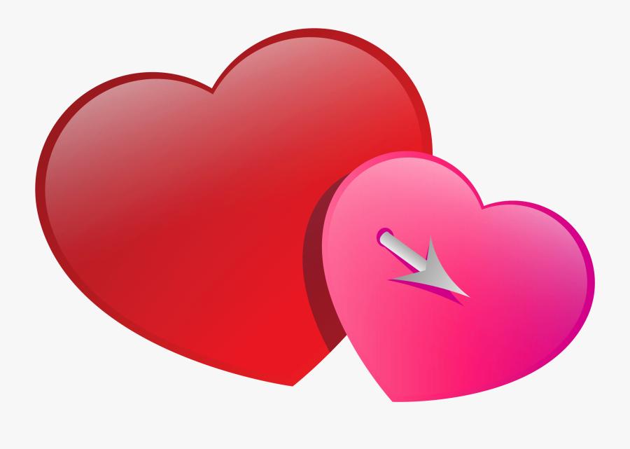 Heart Face Clip Art Image Black - Heart, Transparent Clipart