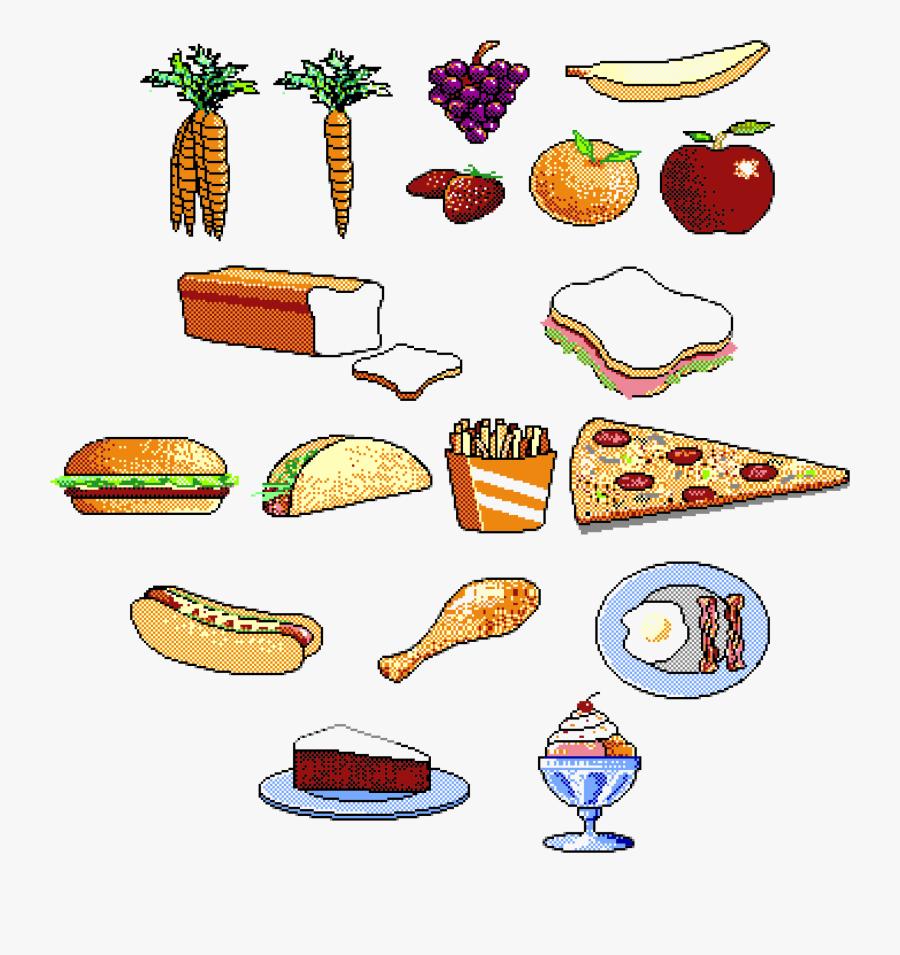 Food Clip Arts Gambar Animasi Makanan Sehat Free Transparent
