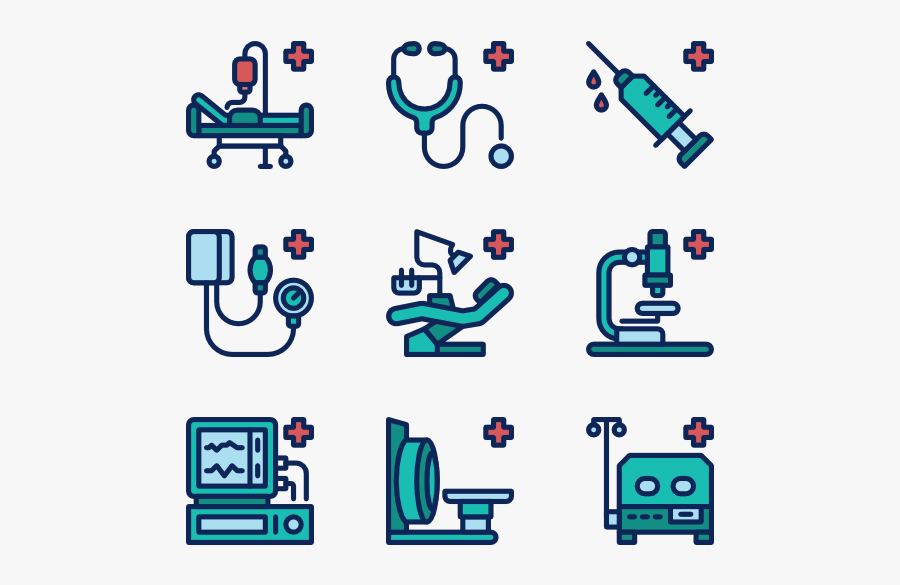 Medical Devices - Medical Device Medical Equipment Icon, Transparent Clipart