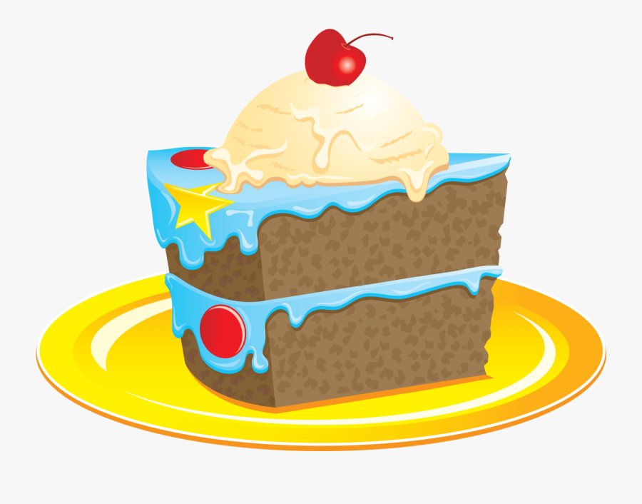 Cake Slice Clipart Png Image Free Download Searchpng - Cake Slice Clip Art, Transparent Clipart