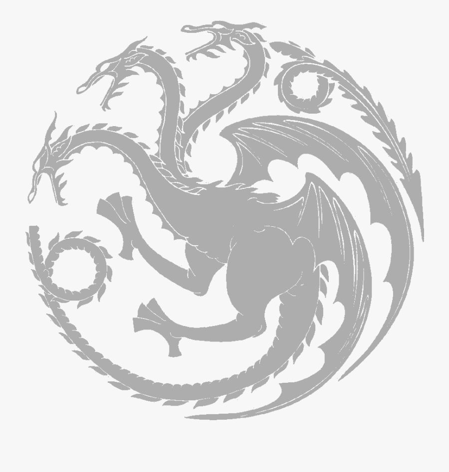 Game Of Thrones Clipart Game Of Thrones Dragon Logo Png Free Transparent Clipart Clipartkey