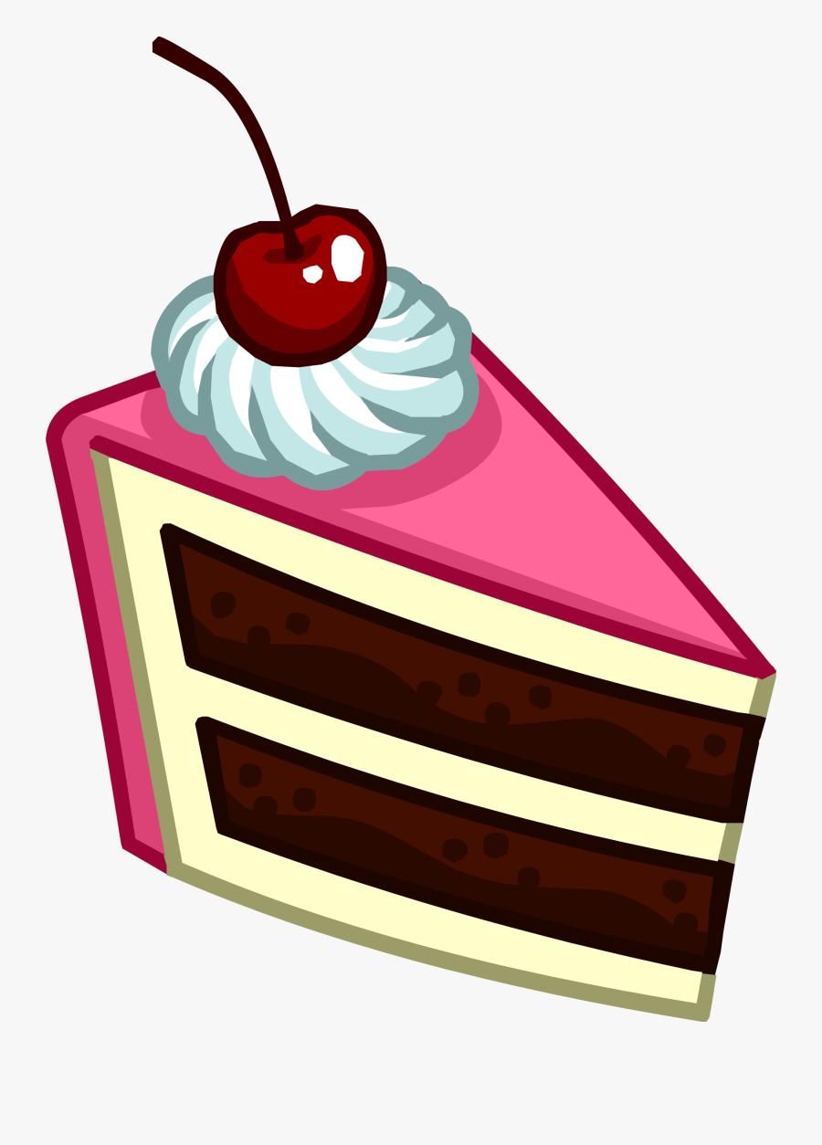 Slice Of Cake Icon - Transparent Slice Of Cake, Transparent Clipart