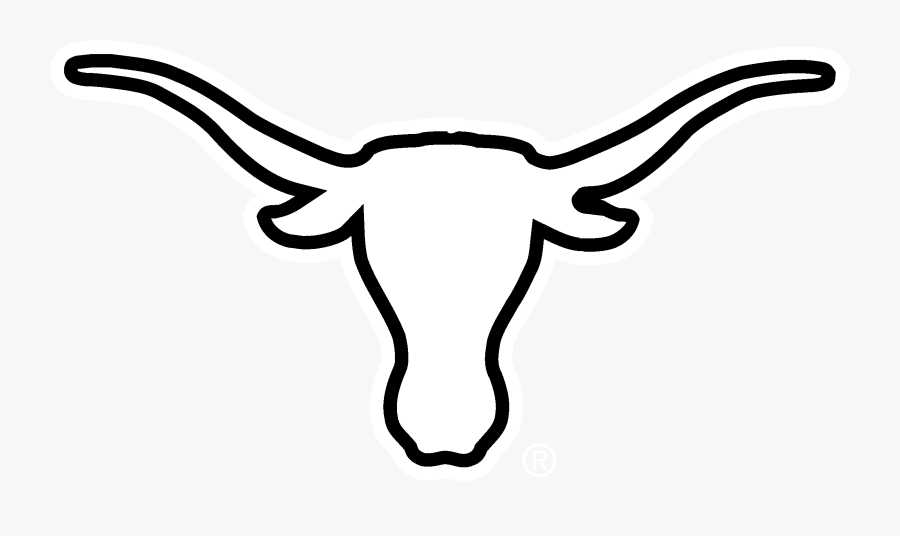 Longhorn Cattle Clipart Ox Face Texas Longhorn Logo White Free Transparent Clipart Clipartkey