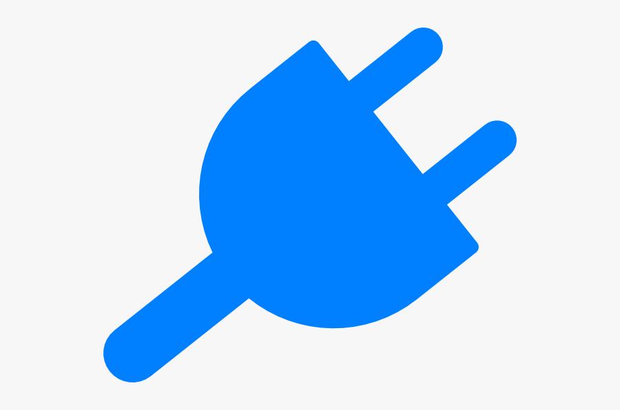 Clip Art Power Plug, Transparent Clipart