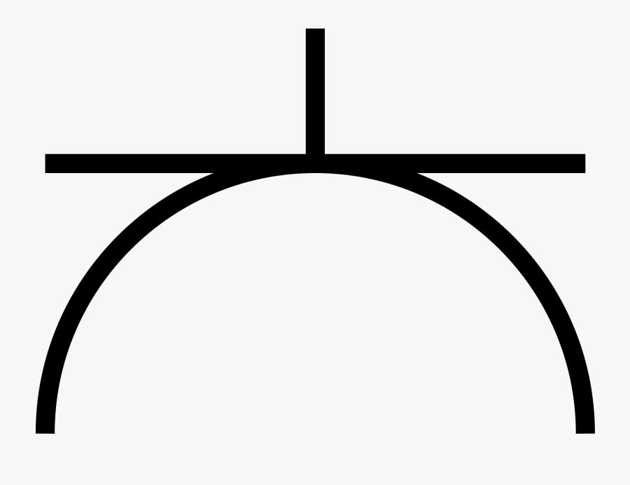 Transparent Electrical Plug Clipart - Electric Plug Point Symbol, Transparent Clipart
