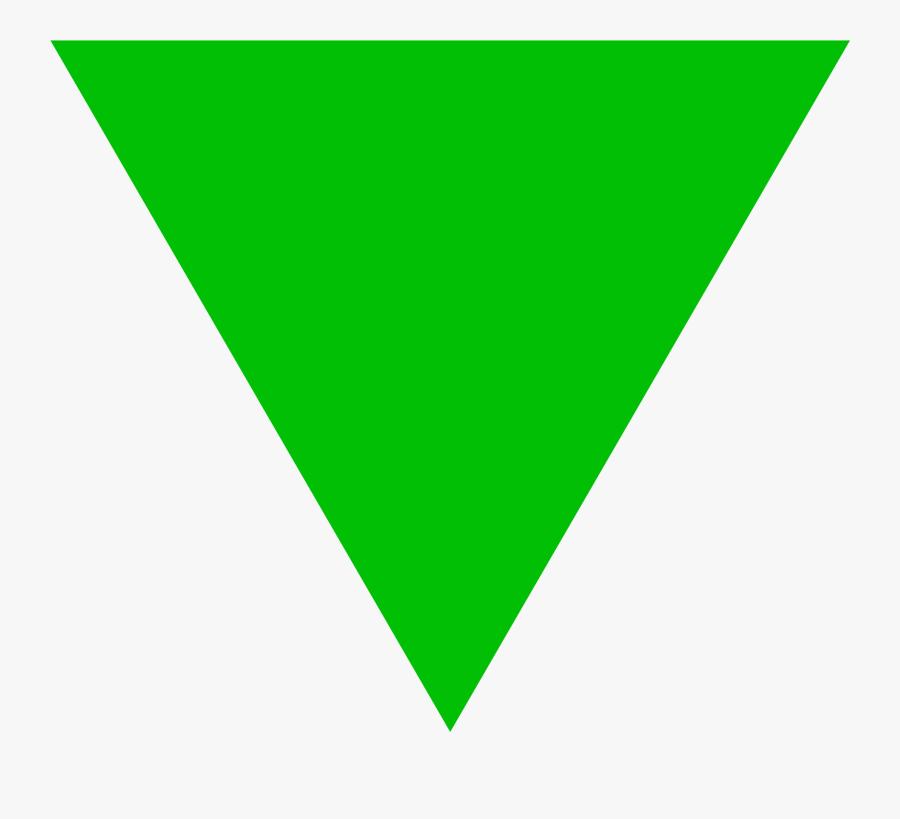 Green Triangle Logos - Green Triangle Icon Png, Transparent Clipart
