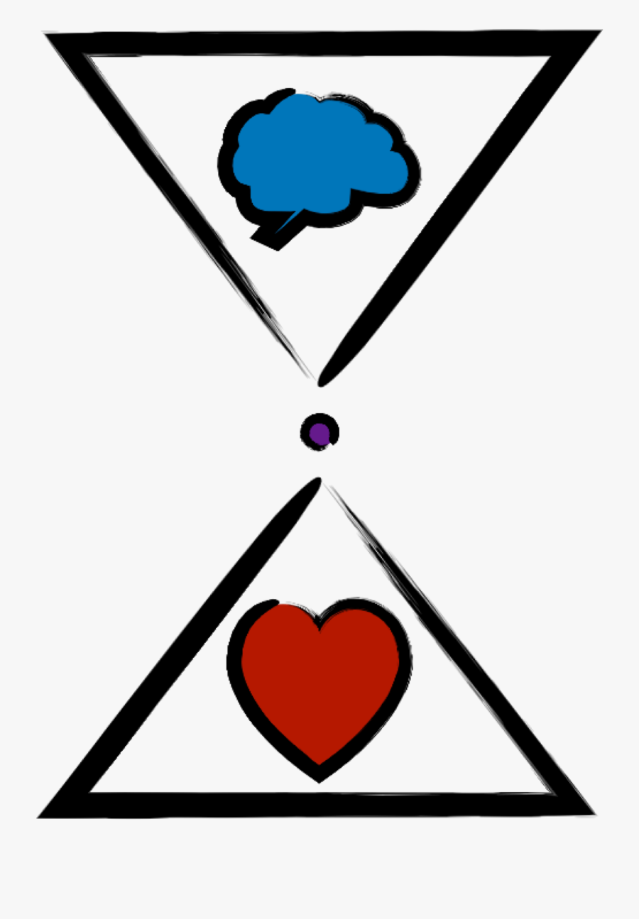 Mind Heart Cliparts - Heart And Mind Symbol, Transparent Clipart