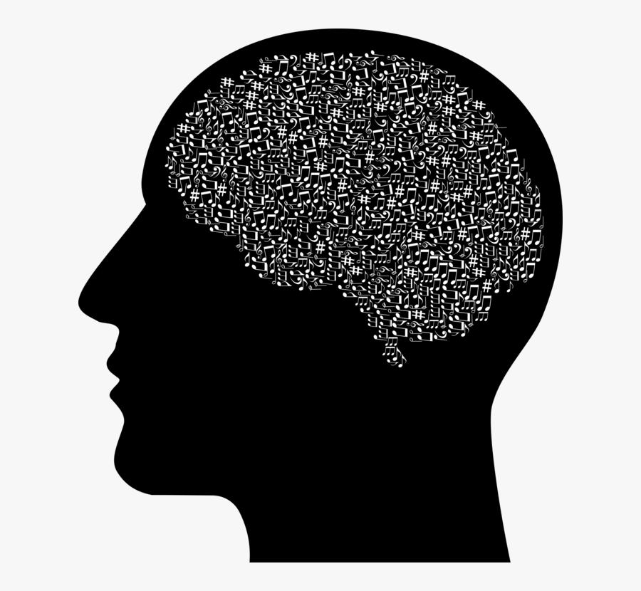 Human Behavior,head,silhouette - Human Head Transparent Background, Transparent Clipart