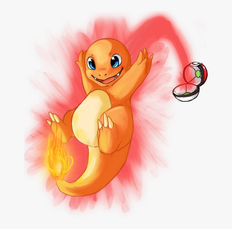 Pokeball Clipart Pokemon - Charmander I Choose You, Transparent Clipart