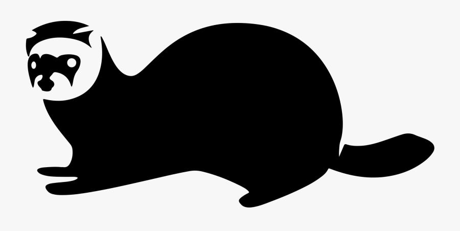 Clip Art File Ferret Icon Flipped - Ferret Icon Png, Transparent Clipart
