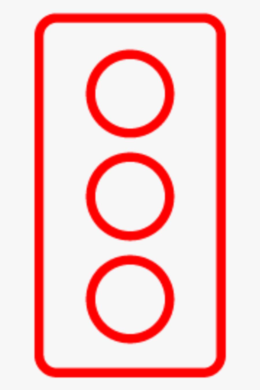 Medium Fern Wird Nah Icon Ampel - Circle, Transparent Clipart