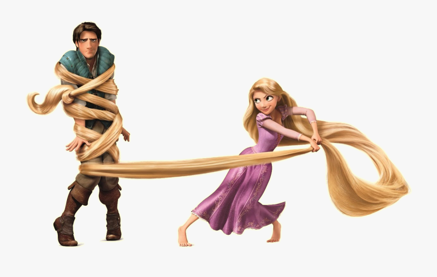 Rapunzel Download Png Flynn Rider Tangled In Rapunzel S Hair Free Transparent Clipart Clipartkey