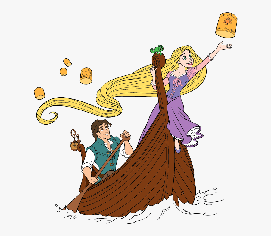 Rapunzel And Flynn Boat Free Transparent Clipart Clipartkey