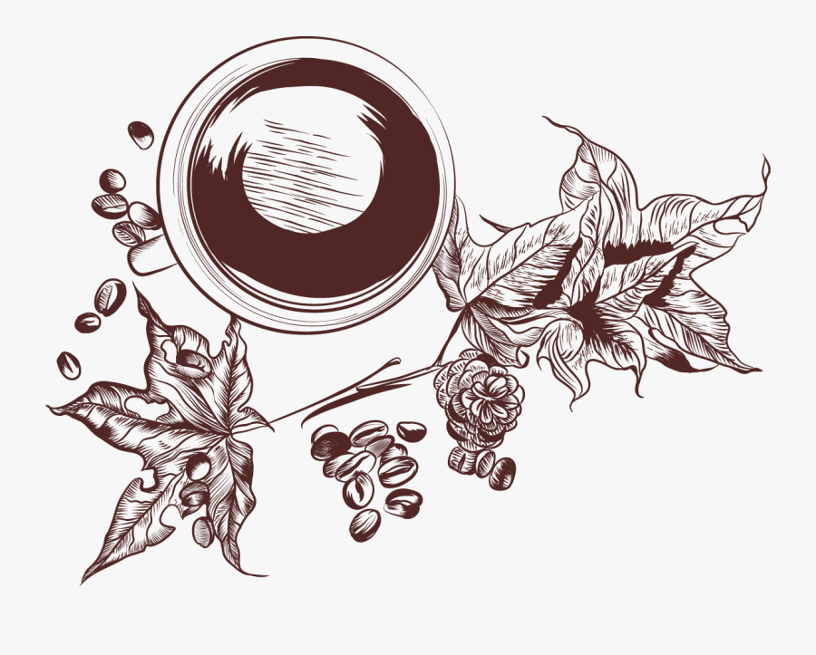 Coffee Tea Latte Cafe Retro Coffee Vector Png Free Transparent Clipart Clipartkey