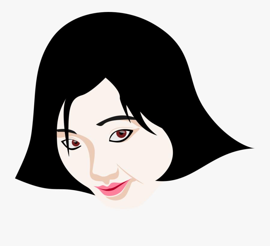 Beauty Soap Clipart, Vector Clip Art Online, Royalty - Desenho De Menina Japonesa, Transparent Clipart