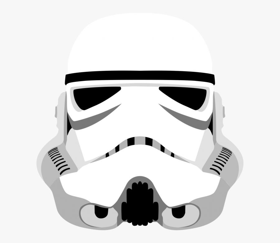 Transparent Storm Trooper Png - Star Wars Stormtrooper Helmet Png, Transparent Clipart